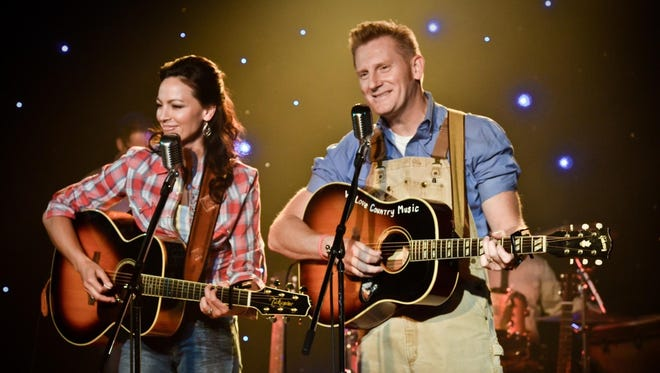 Joey Feek, left, and Rory Feek