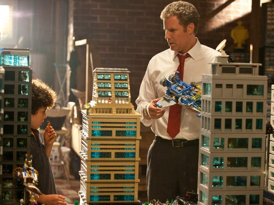 "Will Ferrell in ""The Lego Movie"""