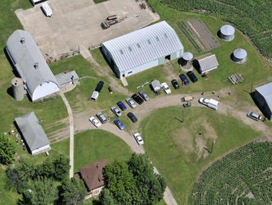 In 2010, authorities in Minnesota dug up the Rassier