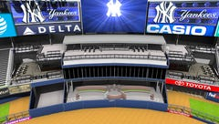 Yankee Stadium being updated with new areas for fans