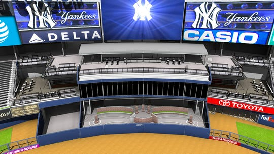 The Yankees are planning a series of renovations at