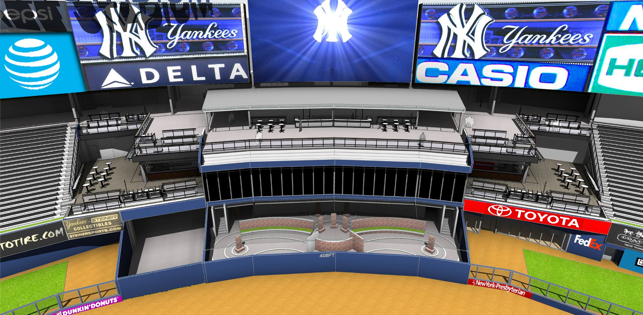 The Yankees are planning a series of renovations at & Lohud Yankees Blog: Yankee Stadium being updated with new areas for fans