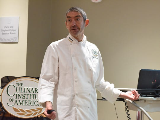 Bobby Perillo, with The Culinary Institute of America