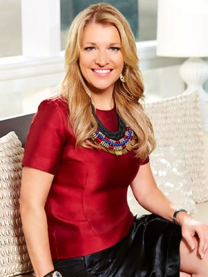 This photo provided by HSN Inc., shows Mindy Grossman. HSN's fourth-quarter results, released Wednesday, showed a 2 percent decline in revenue to $1.07 billion as profit fell 27 percent to $43.5 million. That beat Wall Street expectations, and the company's shares rose more than 6 percent. But the stock has been down 17 percent in the last 12 months. CEO Mindy Grossman said the goal is to keep testing while implementing new strategies.