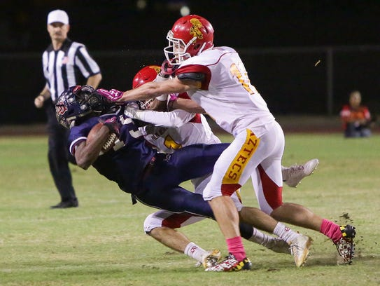 Palm Desert captured the flag with some stingy defense,