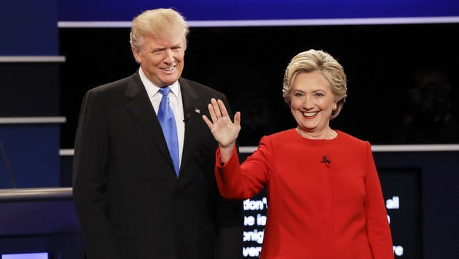 Donald Trump and Hillary Clinton debated last week. A new poll by the University of Delaware shows Clinton winning big in Delaware.