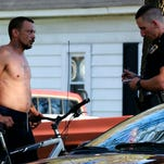 A man was shot at while riding his bicycle on Frisco Ave. in Springfield, Mo. on April 18, 2015.