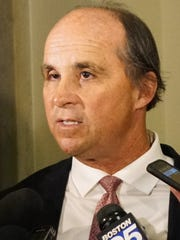 Marijuana legalization backer Jim Borghesani has been