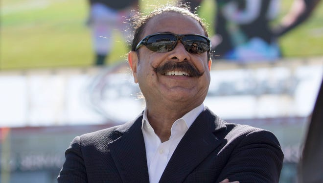 Jaguars owner Shad Khan is still waiting to see his team reach the playoffs.