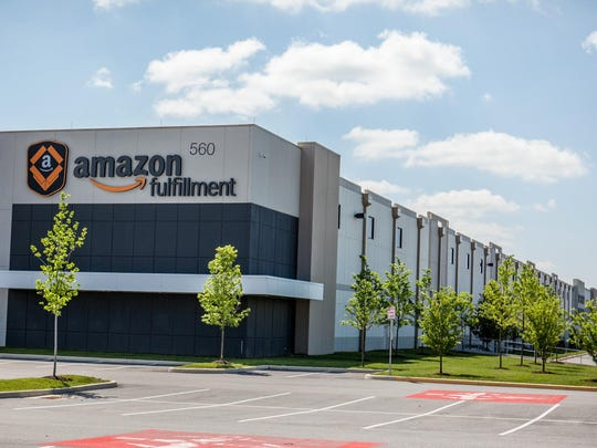 The 1.2-million-square-foot Amazon Fulfillment Center