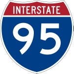 Driver in Sunday I-95 crash cited for driving on drugs