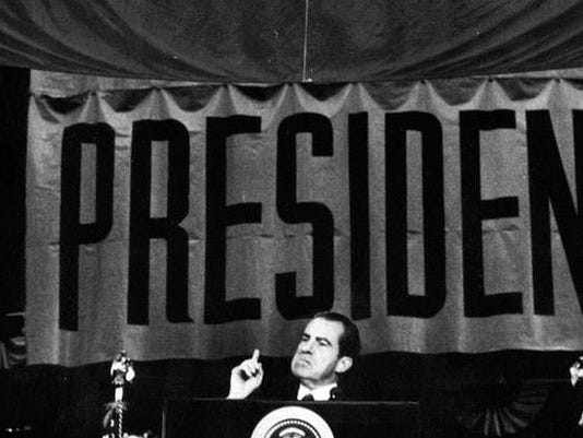 1972 – Richard Nixon (R) - won