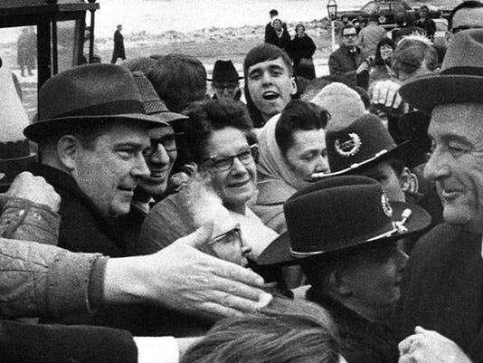 1964 – Lyndon B. Johnson (D) - won