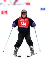 Robert Delaney of Whippany competes in the giant slalom