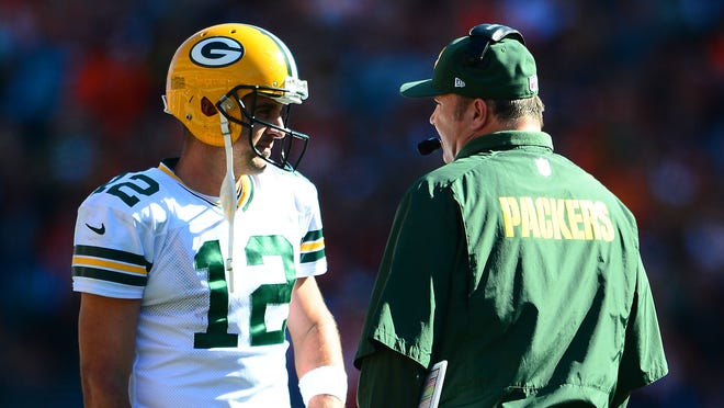 Aaron Rodgers quarterbacked the Packers to a 5-2 start this season before breaking his clavicle Nov. 4.