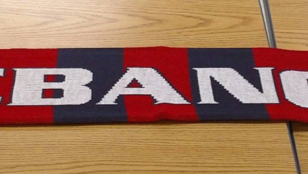 The Lebanon High boys soccer program is selling these scarves as a fundraiser to provide improved offseason  playing opportunities for the team.
