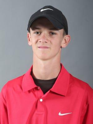 Blackman junior golfer Tanner Owens, on Wednesday, July 16, 2014.