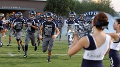 The Higley High School Knights make their first appearance
