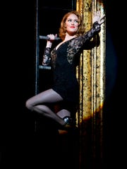 "Dylis Croman stars as Roxie Hart in ""Chicago,"" stopping"
