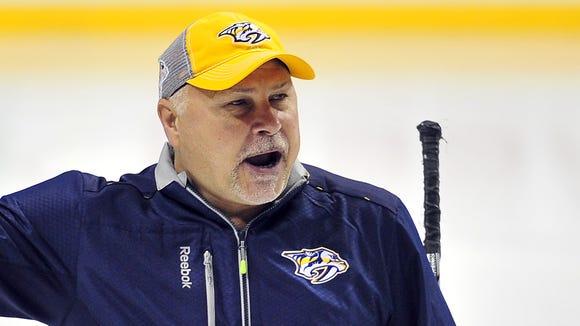 Former Predators coach Barry Trotz
