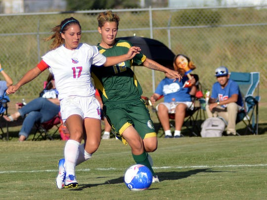 Tori Lopez and the Las Cruces girls soccer team opens the Class 6A state tournament on the road on Friday. Tori Lopez, and the Las Cruces girls soccer team opens the Class 6A state tournament on the road on Friday.