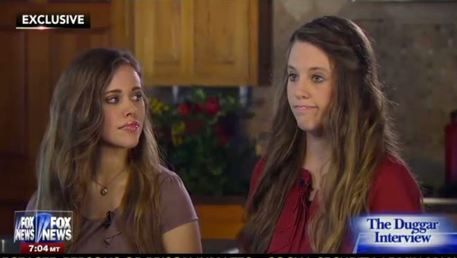 Sisters Jill Dillard, 24, and Jessa Seewald, 22, speak to Fox News about Josh Duggar's sex-abuse scandal.