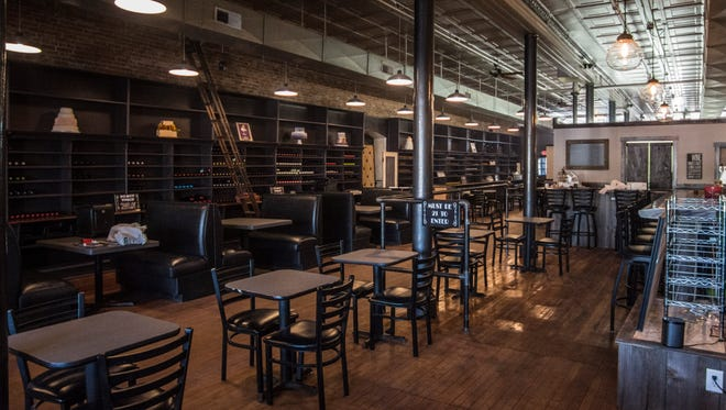 The Cordial Cork, 911 N. E St., can seat up to 88 guests. The diining area is seen Friday, March 2, 2018.