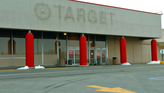 The former Target store Monday, Jan. 31, 2005.