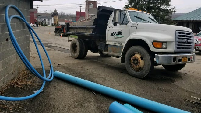 Arkport is looking to wrap up its $3.1 million water system overhaul.