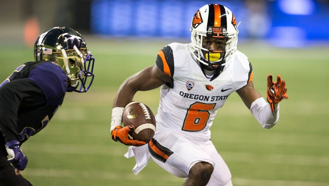 Victor Bolden is a difference maker for Oregon State as a receiver and in the return game.