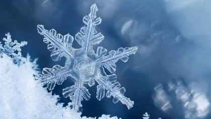 There's a chance of snow from Friday night into Saturday, according to the National Weather Service.