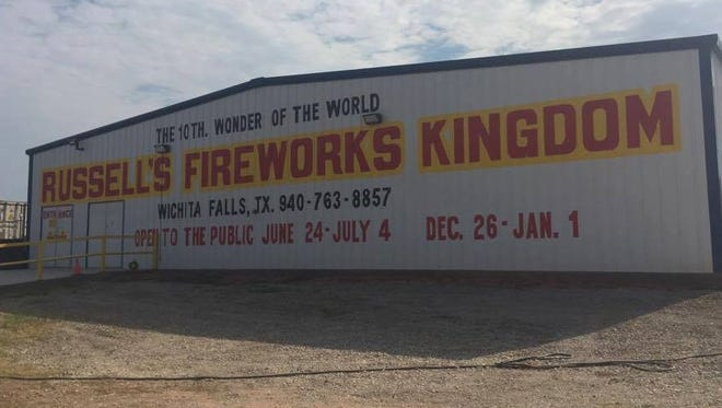 Russell Nettles, owner of Russell's Fireworks Kingdom, died Nov. 1.