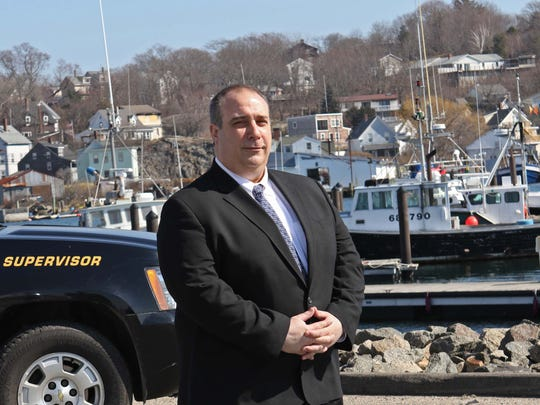 Leonard Campanello, chief of police for the Gloucester Police Department, at the Inner Harbor of Gloucester, Mass. Campanello had gotten nation attention over his successful Angel Program that lets addicts come to the police station to get immediate treatment.