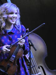 """Alison Krauss will be performing in """"The Life and Songs"""