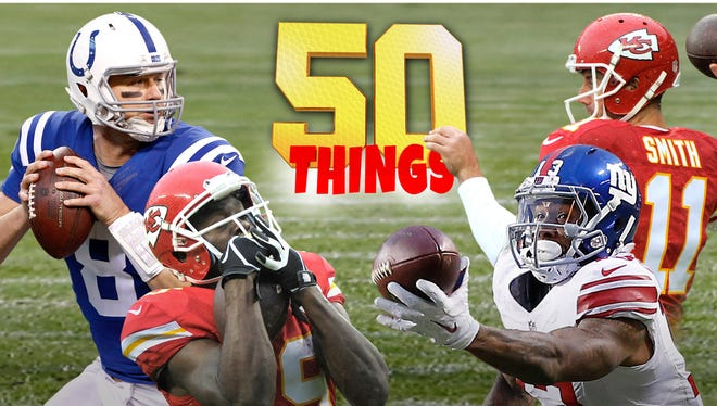 50 things we learned in Week 12 of the NFL season.
