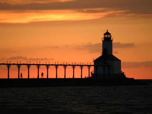 The most beautiful places in america for What state has the most lighthouses