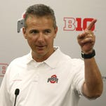 Urban Meyer and his Ohio State Buckeyes are the first unanimous preseason No. 1 in The Associated Press college football poll.