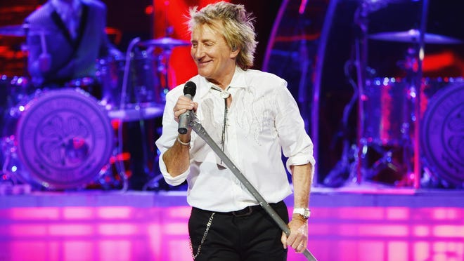 Rod Stewart got his start singing on street corners in 1962 and joined his first real group the next year.