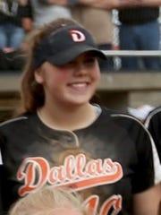 Dallas junior Lauren Wallace.