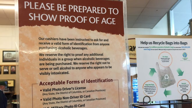 """One that does it right: Wegmans introduced its """"We ID Everyone"""" alcohol sales policy in 2004. Many other supermarkets soon after followed suit."""