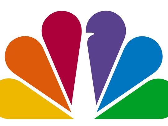 NBC peacock logo.