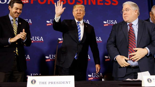 President Trump in West Virginia