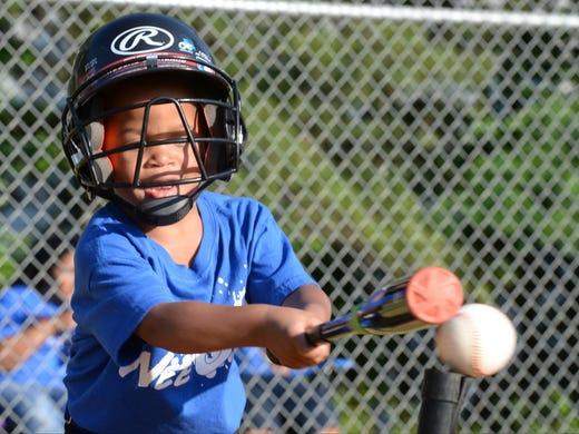 Future Major Leaguers Learn The Basics At Wee Ball