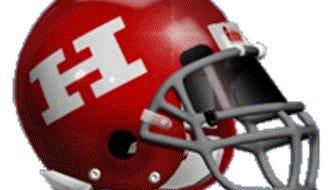 Haughton High School football helmet