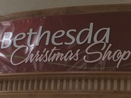 Bethesda Christmas Shop opens Oct. 21 in the Rapids