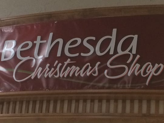 Bethesda Christmas Shop opens Oct. 21 in the Rapids Mall.