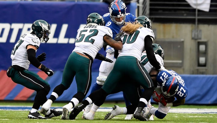 Special teams mistakes cost Giants in loss to Eagles