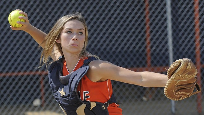 Millville catcher Rian Eigenmann is one of many players to watch this season in South Jersey high school softball.