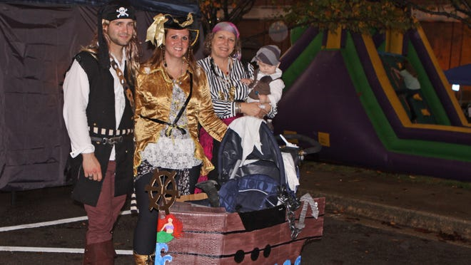 Pirates of all ages invaded downtown Clarksville on Friday, enjoying the third annual Chili Cook Iff and Pirate Fest, a fundraiser for Manna Cafe Ministries.