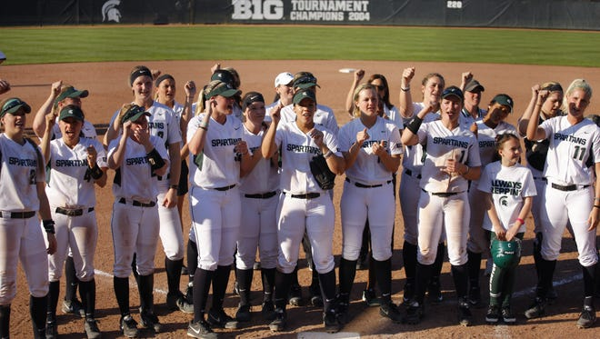 MSU's softball team will open Big Ten Tournament play Thursday against Illinois in State College, Pennsylvania. The Spartans have won five of their last seven games going into the single-elimination event.